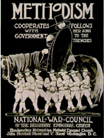 This poster was published by the National War Council of the Methodist Episcopal Church, 1917.