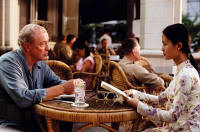 Hai Yen Do and Michael Caine from The Quiet American