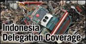 Indonesia Delegation Coverage